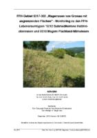 """2,23 MB – Monitoring 2015 – FFH-Gebiet 6317-302 """"Magerrasen von Gronau mit angrenzenden Flächen"""" (naturplan)"""