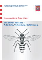 2,63 MB – Rote Liste der Bienen Hessen 2009